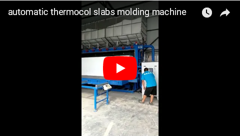 automatic thermocol foam modling machine from China