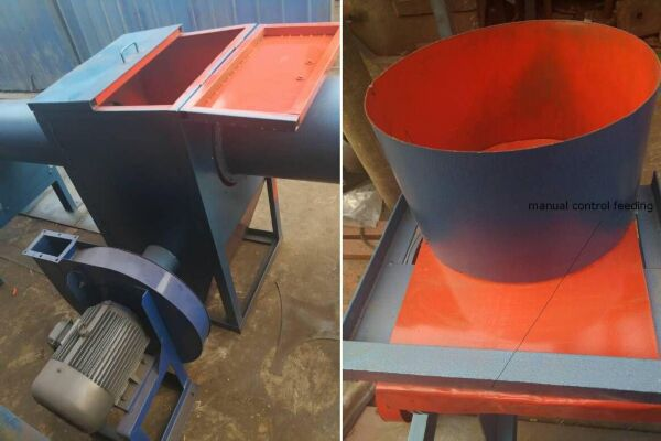 thermocol foam waste mixing machine for blending of eps regrind and virgin materials
