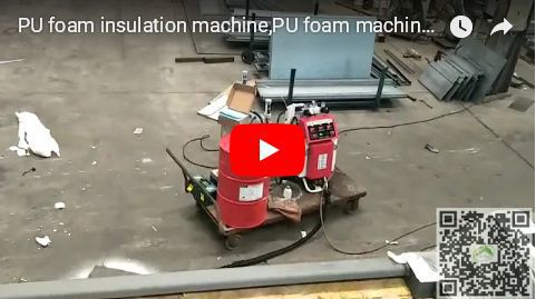 PU foam insulation machine from China